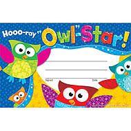 Hooo-ray Owl-Star! Recognition Awards | TRENDenterprises.com