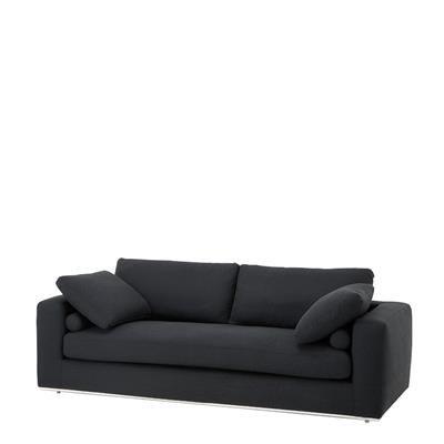Sofa Atlanta | Living Room Eichholtz | Sofa, Black sofa ...