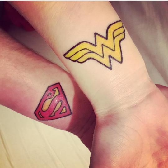 Superman Wonder Woman Via Agatokay Superman Wonder Woman
