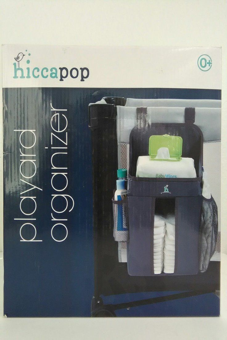hiccapop Playard Nursery Organizer and Diapers OrganizerBaby Diaper Caddy