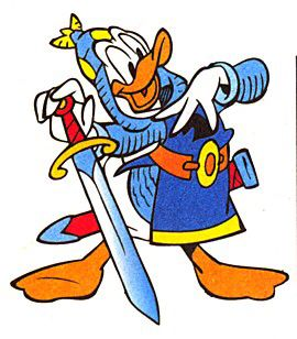 Knight Donald Goofy Disney Donald Donald Duck