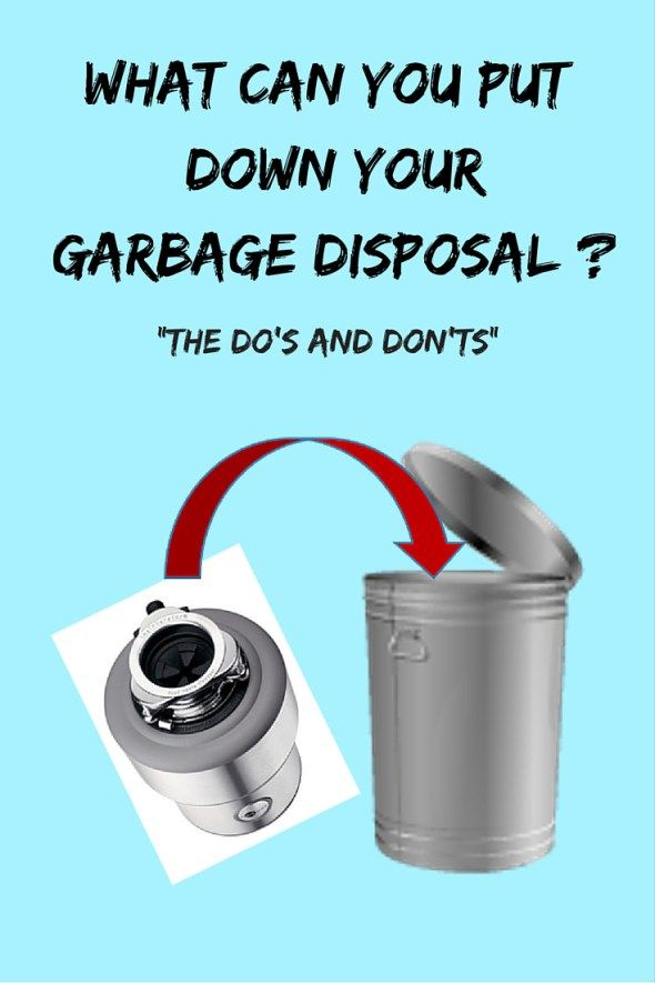 What Can I Put Down My Garbage Disposal Canning House