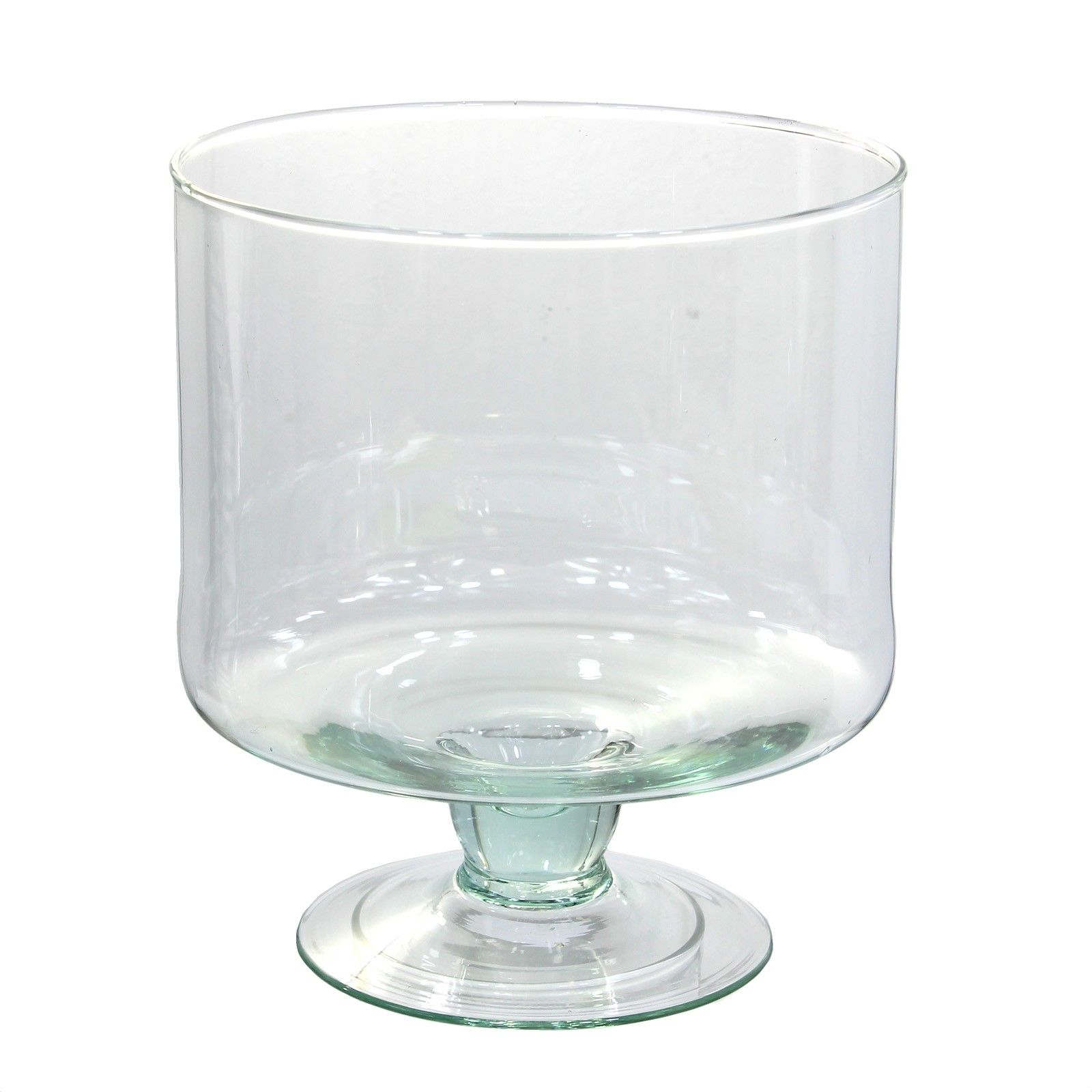 This listing is for one home decoration large glass bowl 15 ltr this listing is for one home decoration large glass bowl ltr cake stand style vase decorative display reviewsmspy