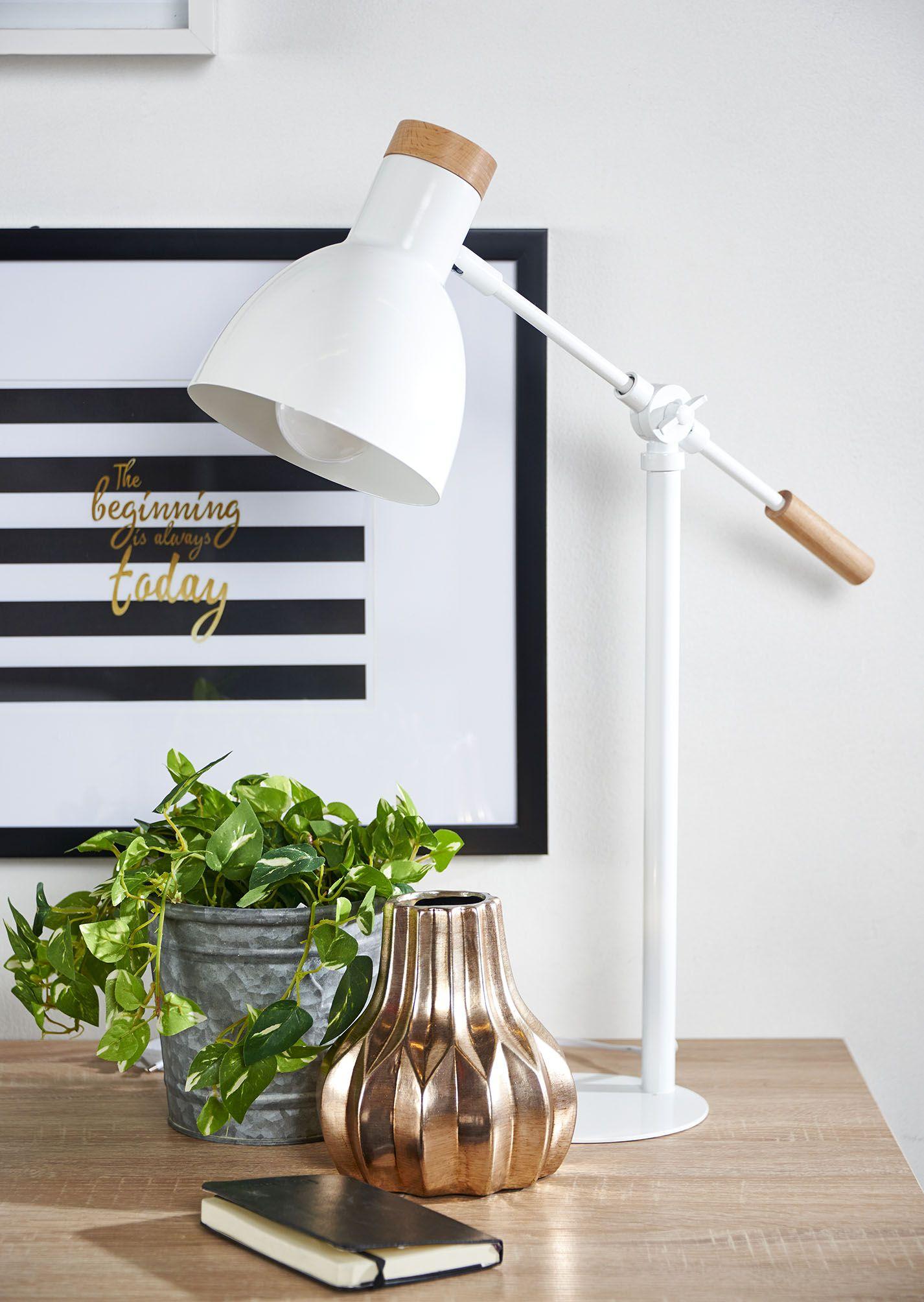 25c937352 L mpara de sobremesa Campanilla | Blanco y Negro | Lámparas, Iluminación y  Mesa de dibujo