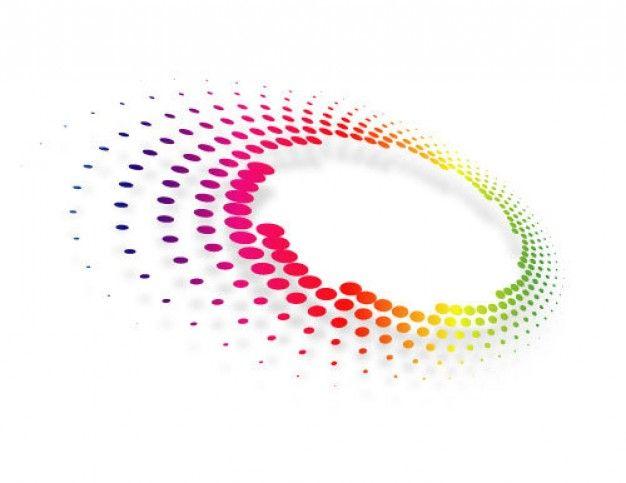 radial dot matrix blend