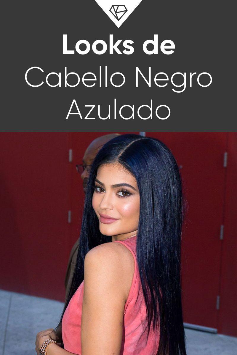Photo of Color de Cabello Negro Azulado