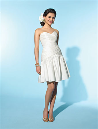 Little White Dress for a courthouse wedding   Mr & Mrs Cagle ...