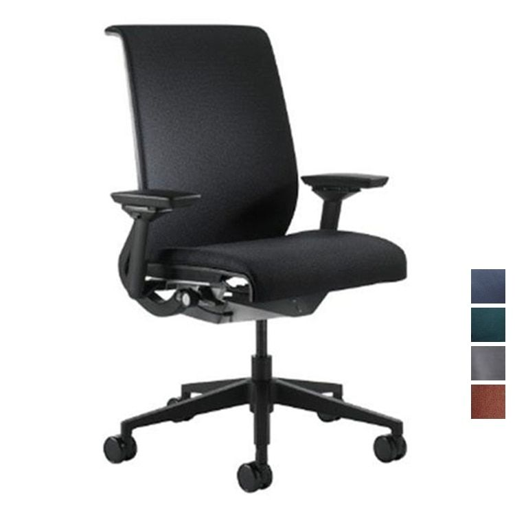 Steelcase Think Chair Fabric Fully Adjustable Model Office Stool