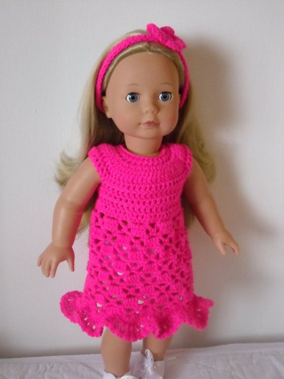 PDF Crochet pattern for 18 inch doll American Girl von petitedolls ...