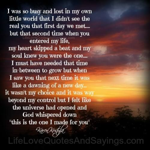Quotes About Lost First Love : busy love of my life live life quotes love my heart lost world first ...