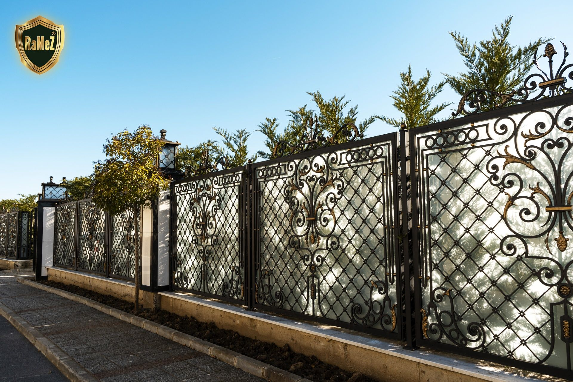 Pelican Hill Ferforje Modellerimiz Wrought Iron Garden Gates
