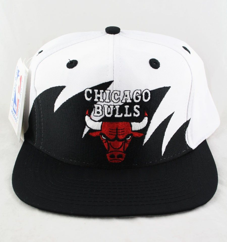 913cfe51b1f Sharktooth cotton twill Chicago Bulls snapback