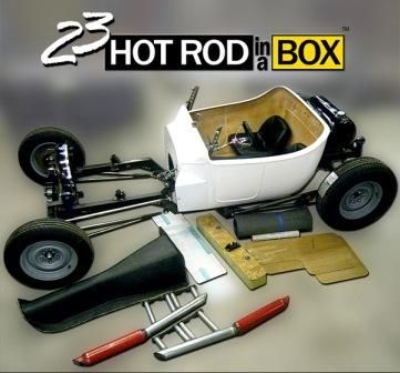 NEHR T-Bucket Hot Rod in a Box 33