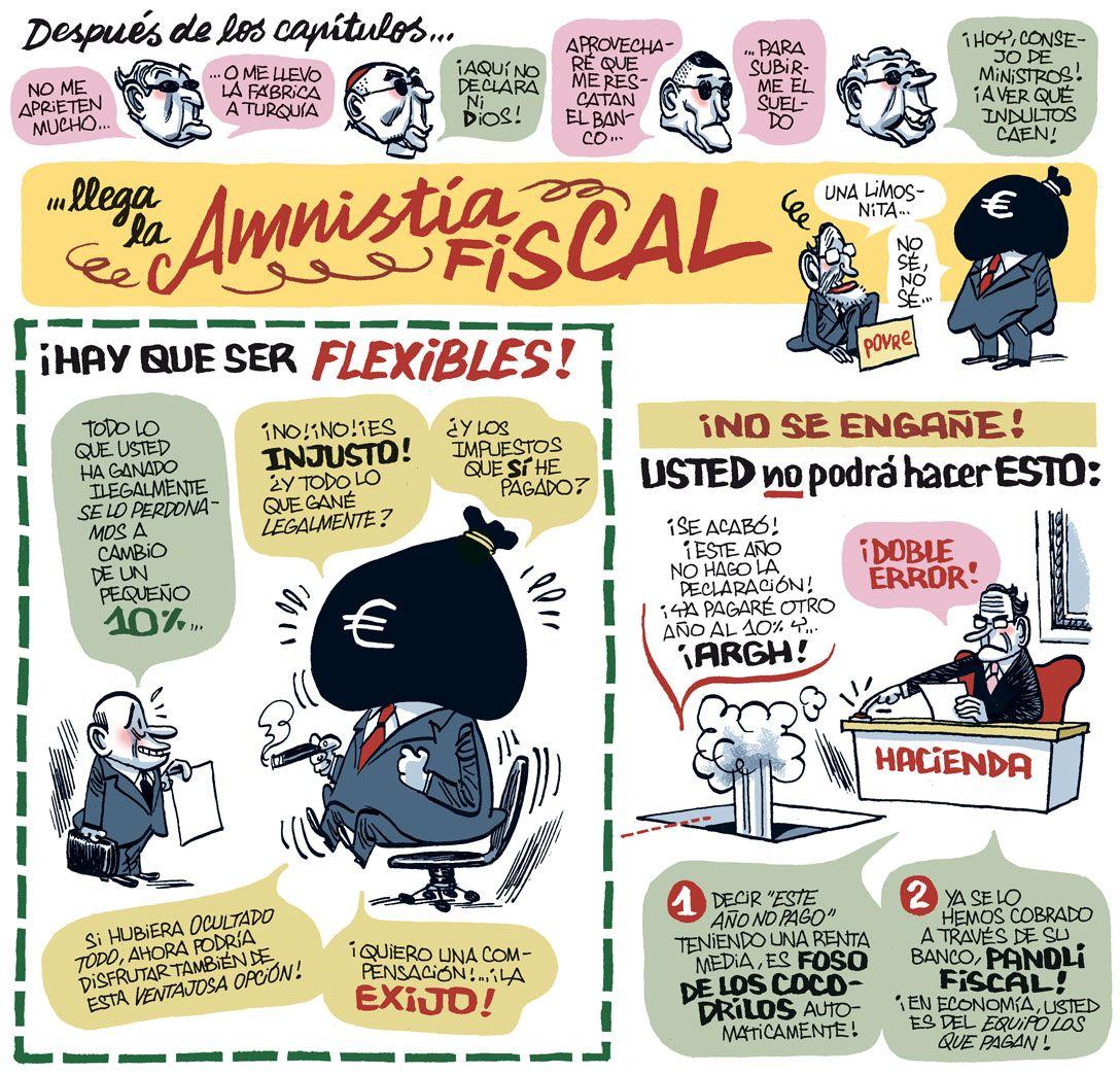 Manel Fontdevila - Impepinable: Amnistía Fiscal