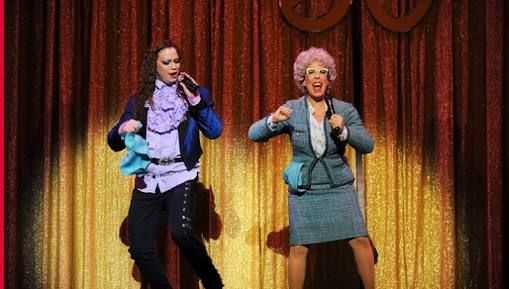Rosie And George Costume The Wedding Singer Singer Photo