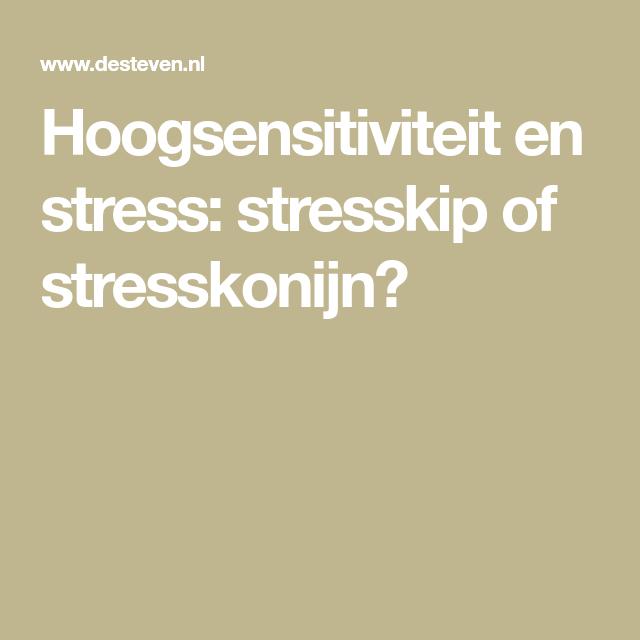 stresskonijn