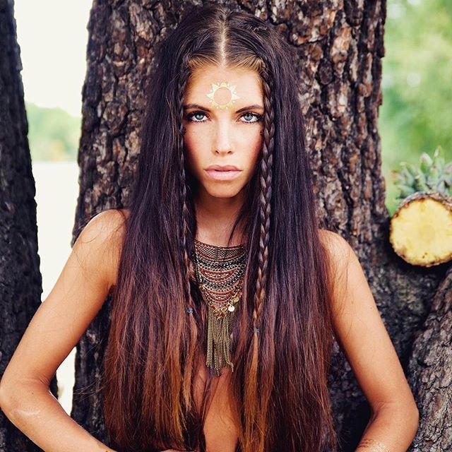 Brilliant Boho Tribal Statement Necklace Style Fashion Tribal Hairstyle Inspiration Daily Dogsangcom