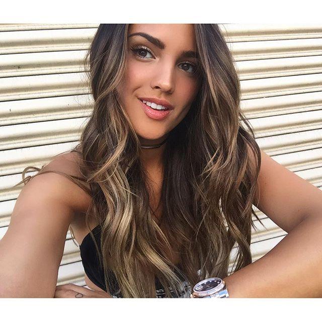 Eiza Gonzalez Hair Color