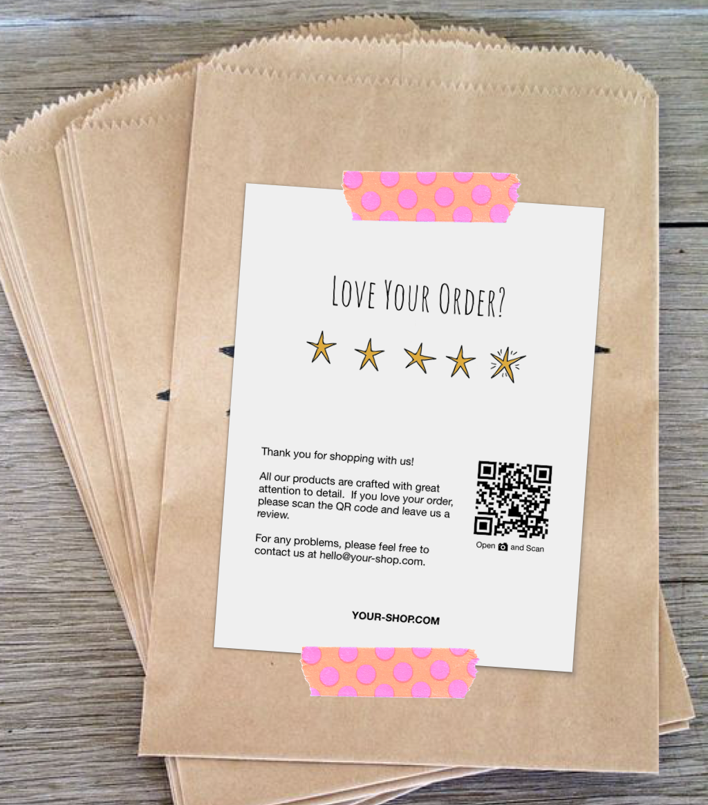 Review Cards Feedback Cards Packaging Inserts For Etsy Sellers Online Sellers Instant Download Love Your Order 5 Stars Cajas Empaques Empaquetado De Joyeria Embalaje Para Ropa