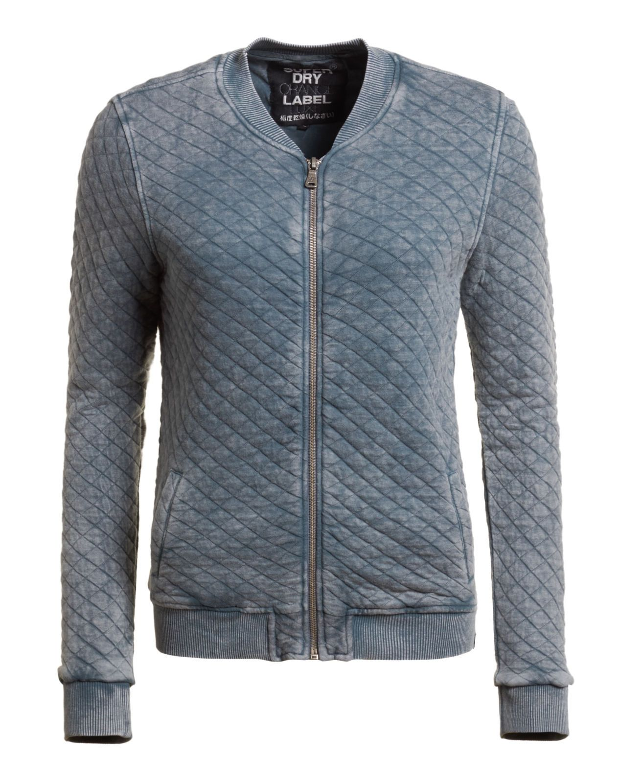 d796905d3 New Womens Superdry Factory Second Beach Micro Jersey Bomber Jacket ...