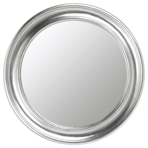 Songe espejo gris plata ikea redondo habitaciones for Espejo gris plata