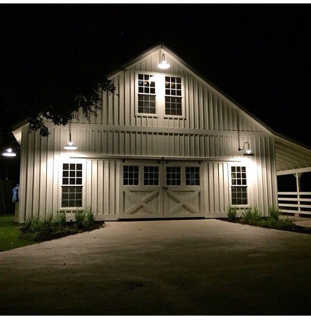 I Like The Outside Lighting Pole Barn Homes Metal
