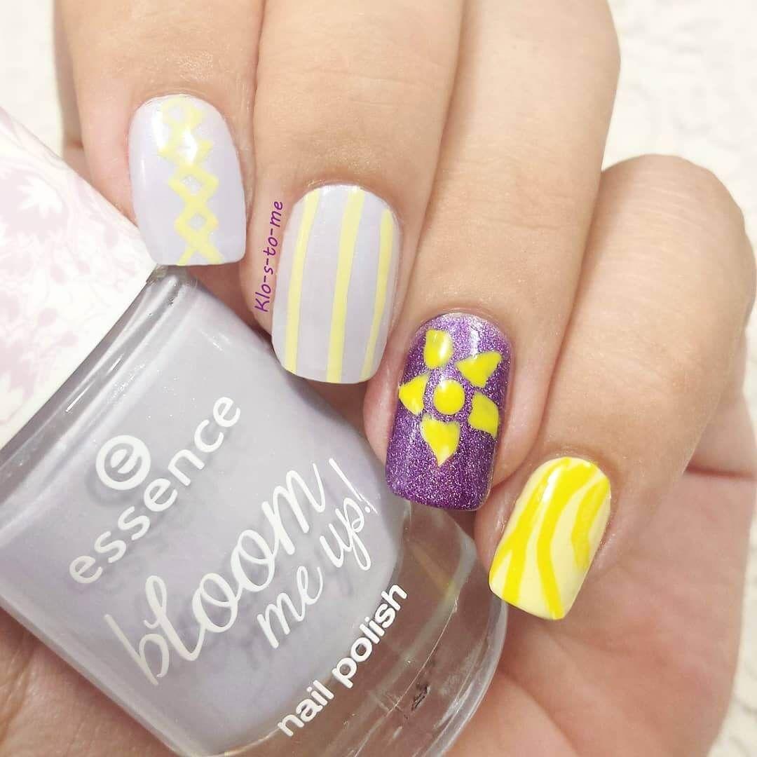Uñas De Disney Enredados Uñasparaniñas Nailart Nails