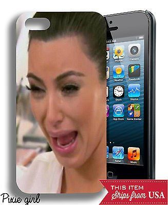 #Popular - Kim Kardashian Crying Funny Popular iPhone 4/4s or 5 or 6 Case  http://dlvr.it/MgCl1W - http://Ebaypic.twitter.com/oXAHYi4X6E