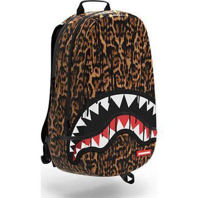 SPRAYGROUND LEOPARD DRIPS SHARK DLXX URBAN SCHOOL LAPTOP BOOK BAG ...