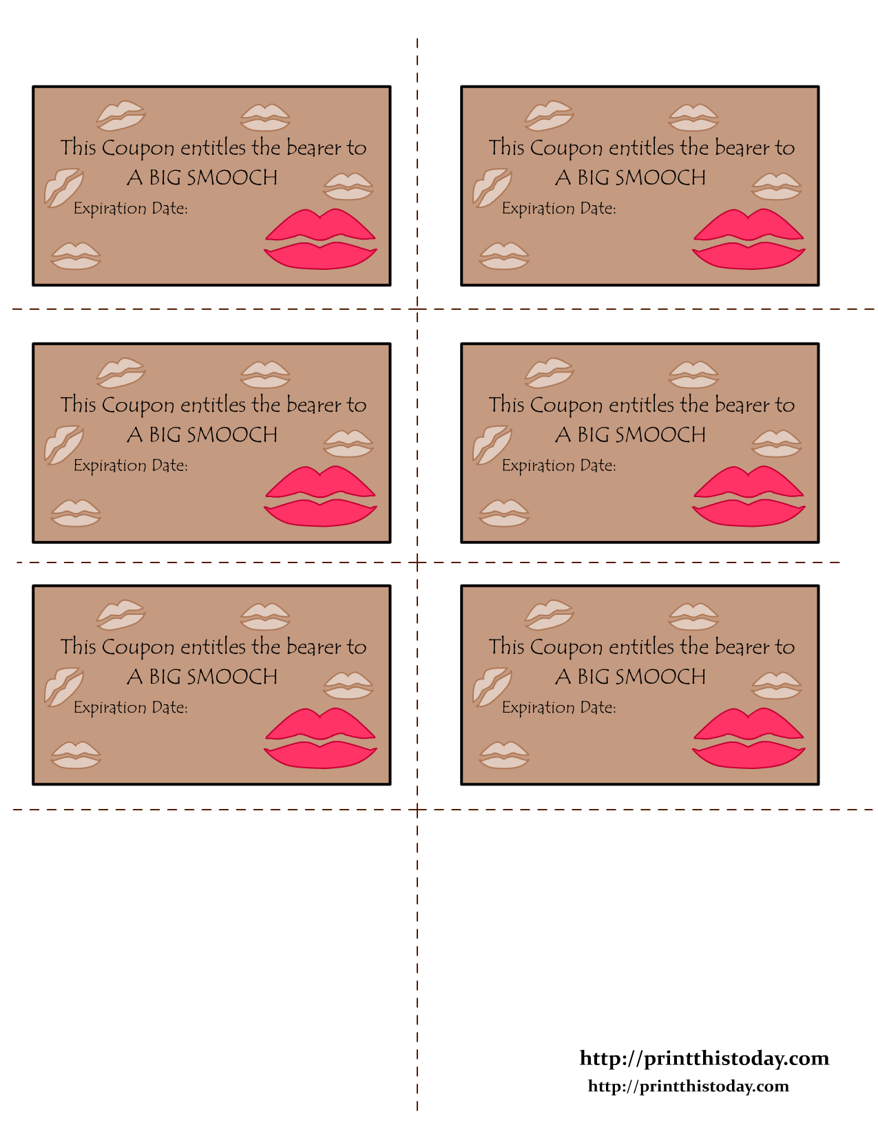 Free Printable Valentine Coupons Love Coupons Coupon Template Valentines Printables Free