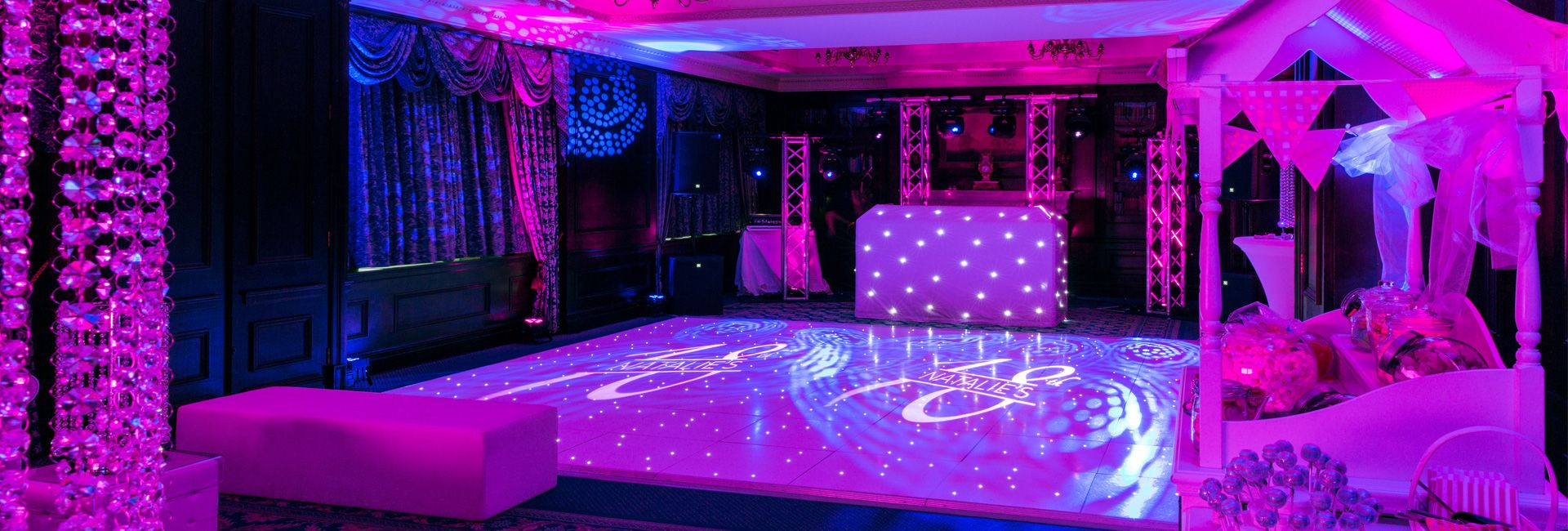 Nightclub dj package for a party in a venue in for 18th birthday decoration