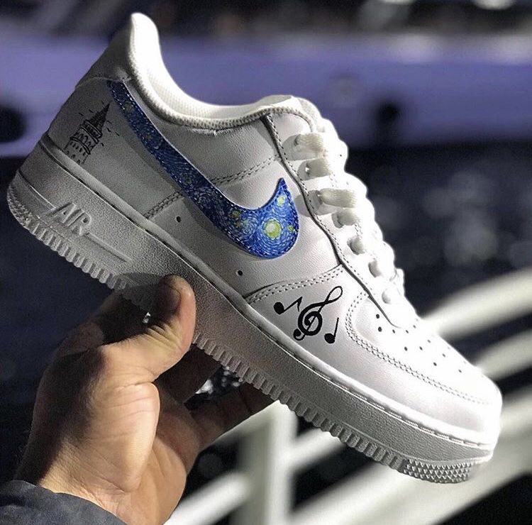 air force 1 van gog