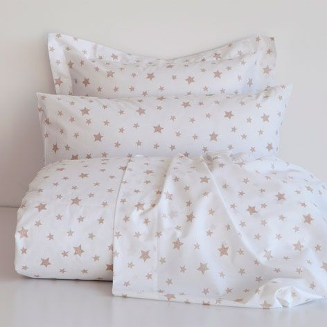 Beige Star Percale Bedlinen   Bed Linen   Bedroom | Zara Home