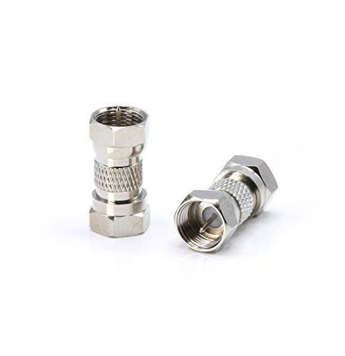 How To Splice Cable Tv Wire   Cable Extension Coupler For Coax F81 Male To Male 3ghz Satellite