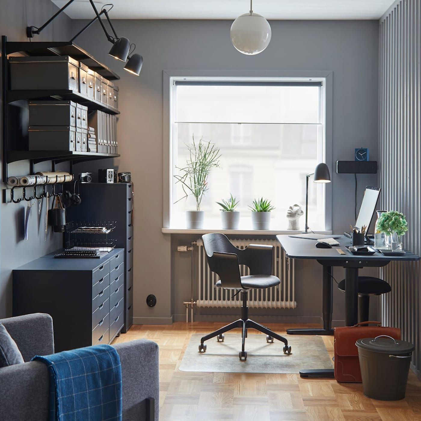 A Colour-coordinated And Stylish Space At Home In 2020