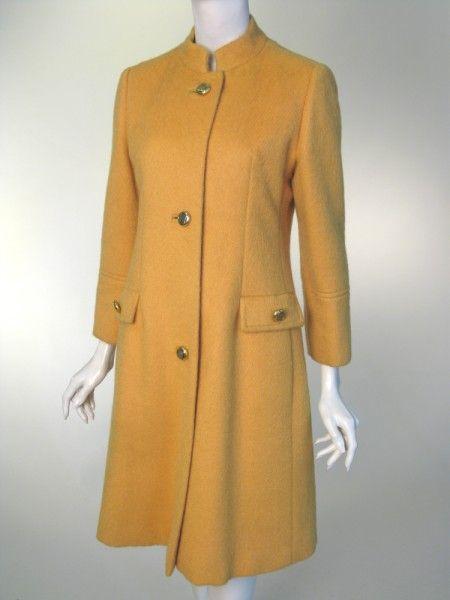 Coat Pierre Balmain 1965 Manchester City Galleries Vintage Fashion 1960s 1960s Fashion Balmain Style