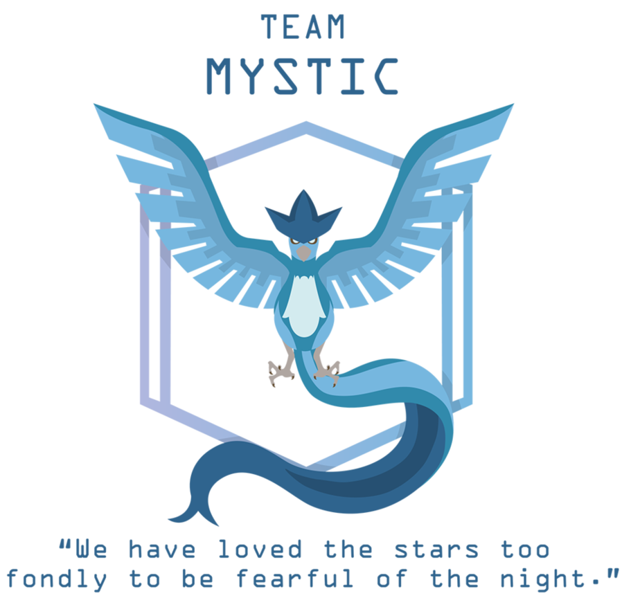 Pokemon Go Team Mystic By Octagoncalibrator On Deviantart Pokemon Go Mystic Pokemon Go Team Mystic Pokemon Teams