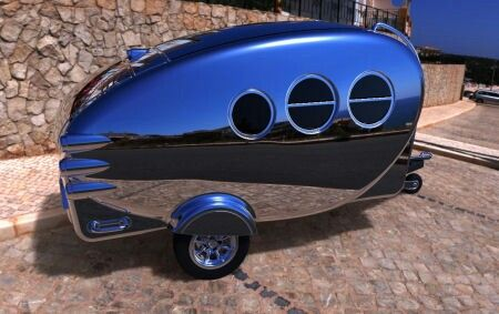 Image result for space age travel trailer