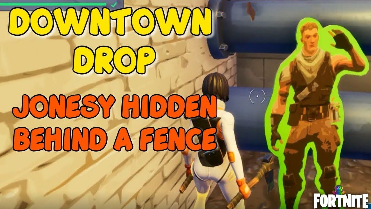 Fortnite Find Jonesy Behind the Fence Location Guide