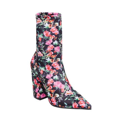 b59dc48f37a Women's Steve Madden Lombard Ankle Boot - Floral Lycra Boots ...