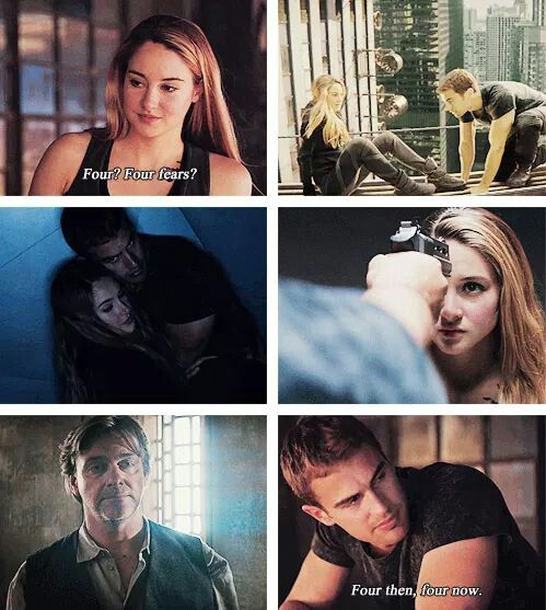 4. I am guessing all of u have figured  out that the 3rd fear is killing the innocent, but the girl he is killing in the movie is tris. tris is innocent!
