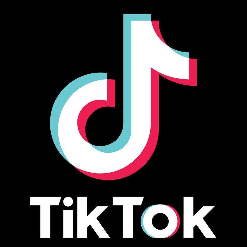 Tiktok Logo Sticker Vinyl Decal In 2020 Logo Sticker Snapchat Logo Vinyl Decals