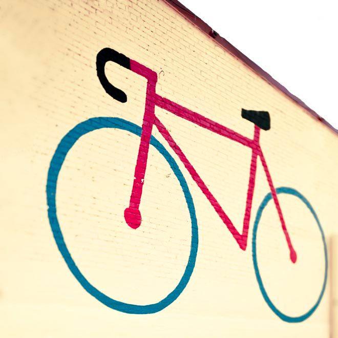 Neon Yellow Bike Print bicycle Photography Wall Art by Raceytay ...