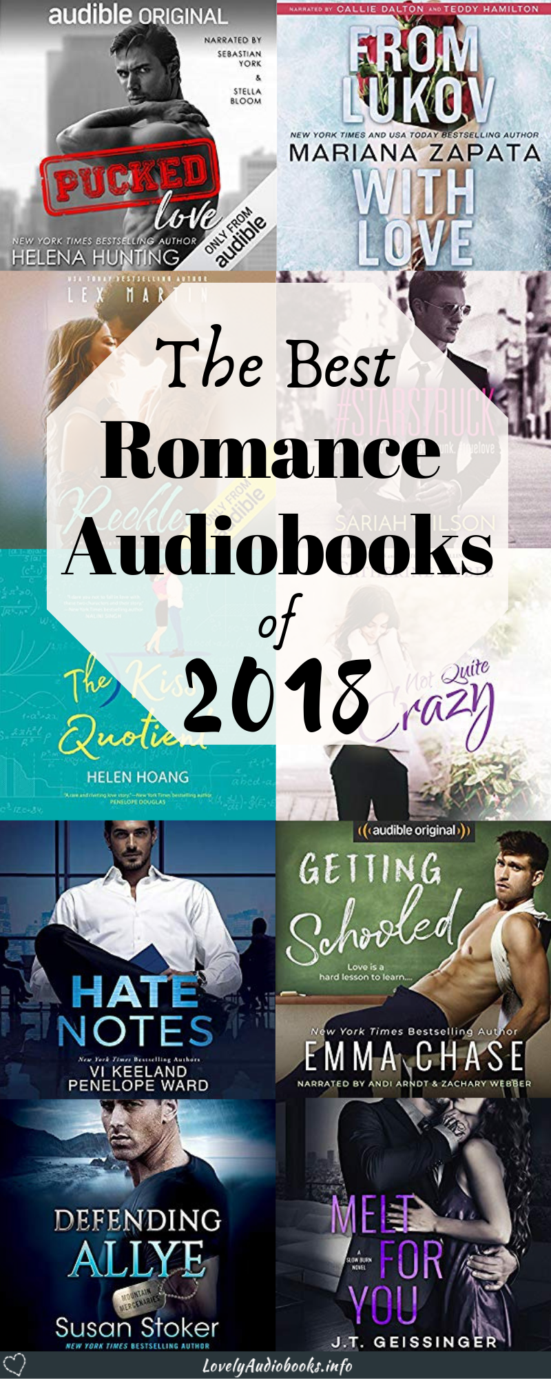 The Best Free Romance Audiobooks of 2018 | Chick Lit/Romance