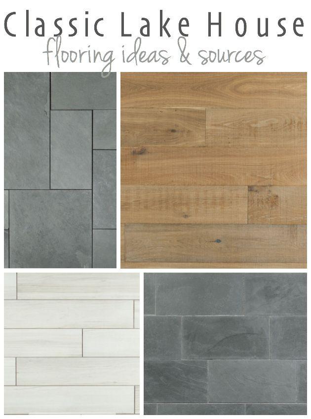 Lake house flooring ideas white washed wood flooring for Cottage flooring ideas