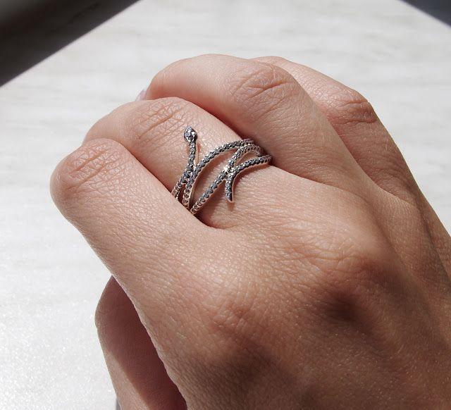pandora snake ring