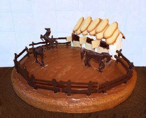 recette gateau anniversaire pour cheval