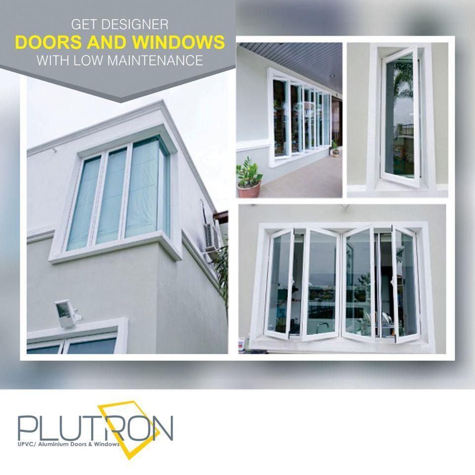 Designer Door And Window With Low Maintenance Plutron Windows Door Design Aluminium Doors