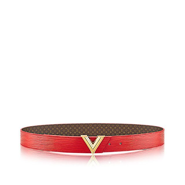LV Essential V 35MM Reversible Monogram Canvas Belts   Authentic ... 34d2ca39f14