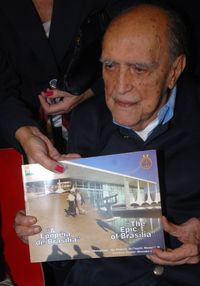 102 year old brazilian architect Oscar Niemeyer hospitalizedon on Latin American Herald Tribune